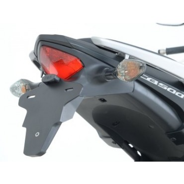 Support de plaque Honda 500 CB500F / CB500X / CBR500R Plastique Noir - RG RACING